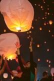 Sky Lantern Festival in India