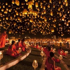 Yi Peng Lantern Festival 2012