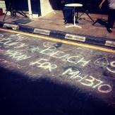 @fish612 on Instagram: Pray for MH370 @ Occupy Beach Street