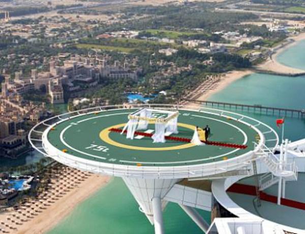 Burj Al Arab Unveils its Wedding in the Skies, 212 Metres Above the Arabian Gulf