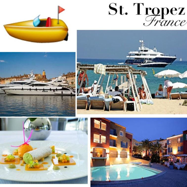 Travel Like Emoji St. Tropez