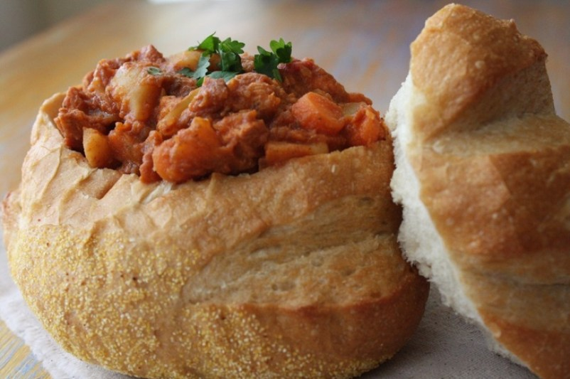 bunny chow south africa food