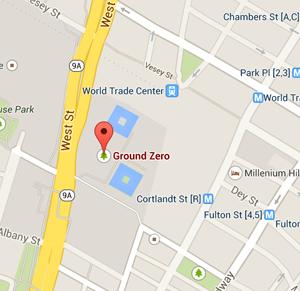 map 911 memorial museum nyc