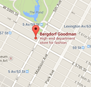 map bergdorf goodman nyc