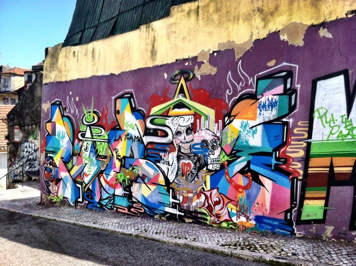 Lisbon Portugal street art 1