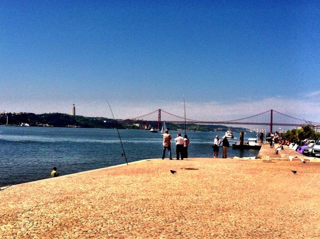 Lisbon Portugal the coast