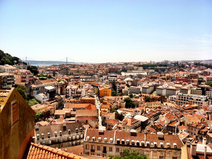 Lisbon Portugal the view