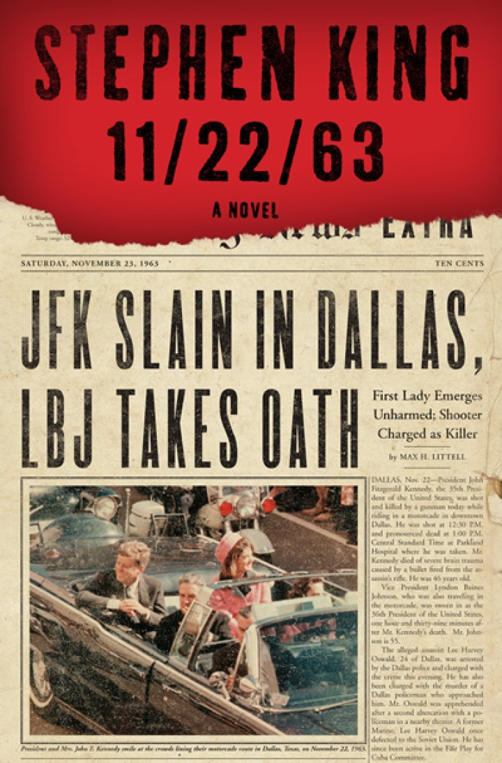11-22-63 Stephen King book cover