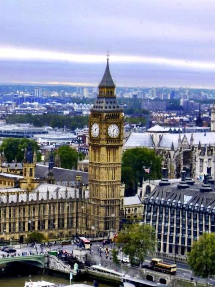 Dawn Fleming study abroad London Big Ben