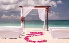 Ritz Carlton wedding beach