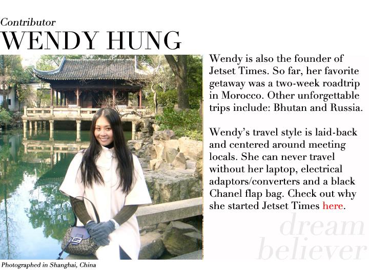 Wendy Hung contributor profile Shanghai China