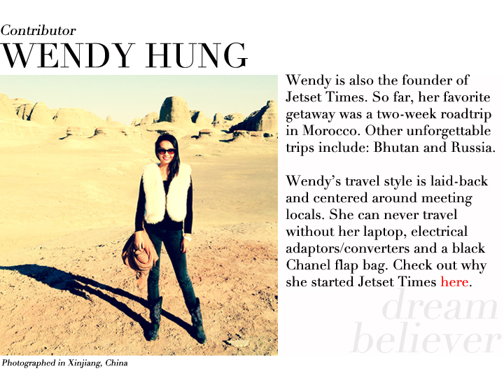 Wendy Hung contributor profile Xinjiang China