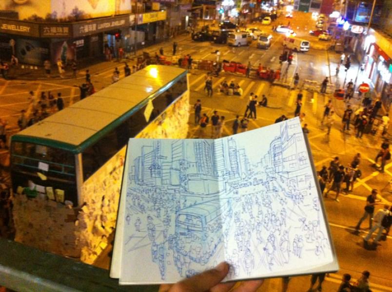 Hong Kong Luis Simone World Sketching Tour 4