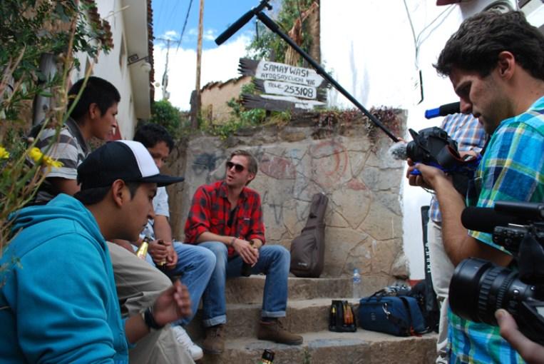 Travel Song Peru documentary Zac