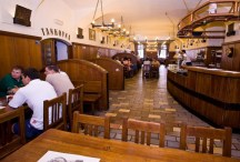 U Medvídků: With a new tank installed, U Medvídků also offers a brewery tour for you to learn more about their brews. This tank pub for serious beer lovers is also a hotel and a restaurant. MAP