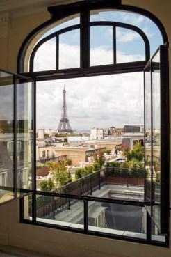 The view - The Peninsula Paris