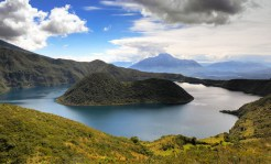 Ecuador: Immerse yourself in stunning landscapes on extended stays amid the volcanoes and lush valleys of the Altiplano and deep within the pristine jungles of the Chocó rain forest. Visit farmers and local artisans in the Andean highlands, and go on a research outing in primary cloud forest with a scientist. (Photo credit: National Geographic)