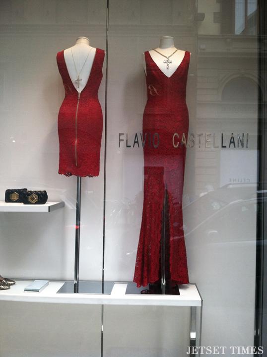 porta rossa florence italy shopping