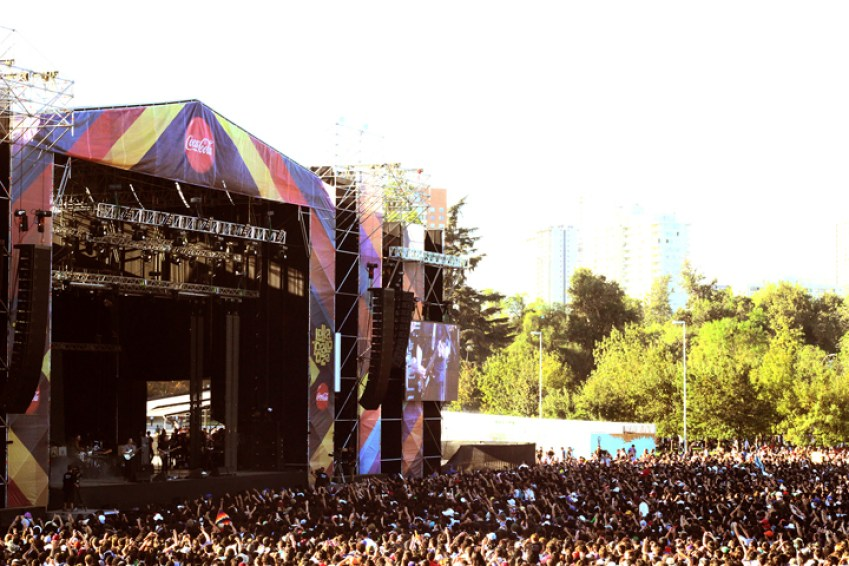 Carlos Montes via Flickr Lollapalooza Chile