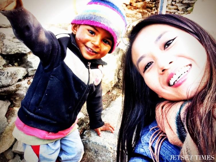 Wendy Pokhara Nepal children
