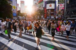 Cross the Shibuya Crossing – One of the most famous images of Tokyo has to be right here, so you've got to do it. Because locals do too! METRO STATION: Shibuya station/JR Yamanote line. (Photo credit: Flickr/Candida.Performa)
