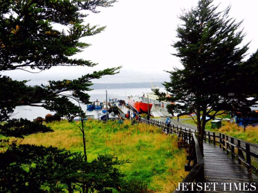10 View from walkway Puerto Toro Chile