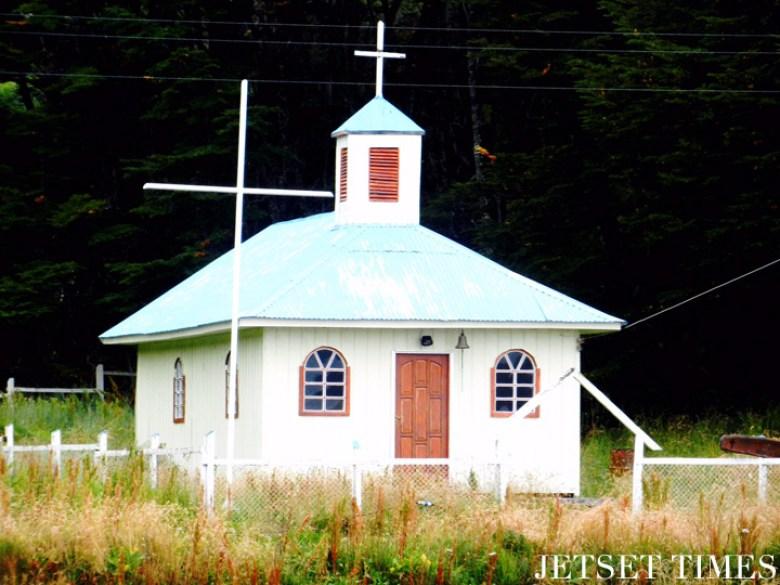 5 Local church Puerto Toro Chile