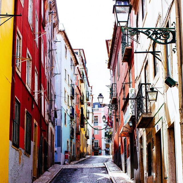 Lisbon bairro alto
