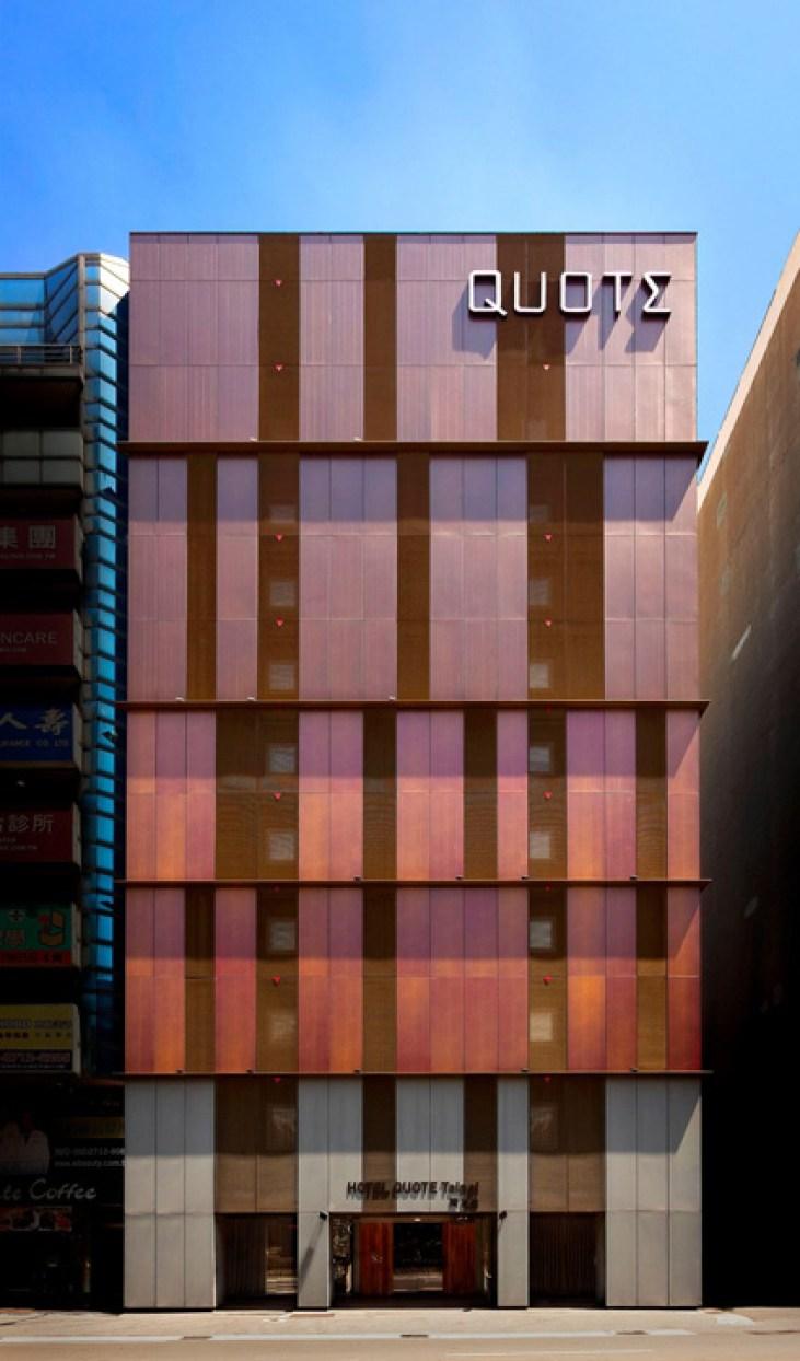 Hotel Quote Taipei exterior