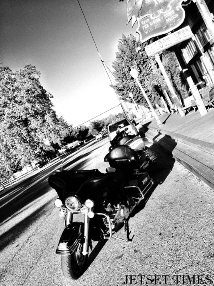 Santa Ynez Valley California motorcycle
