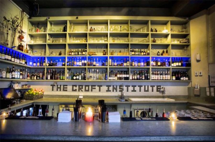 The Croft Institute Melbourne bar