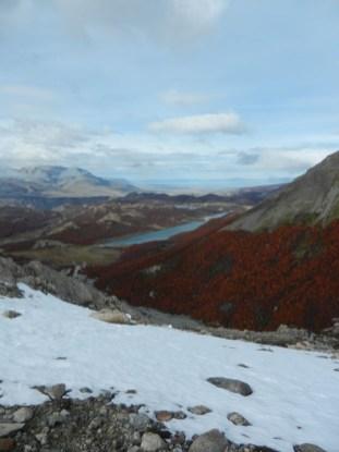Top-Down View From Lago de los Tres