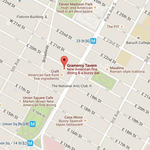 map gramercy tavern nyc restaurant