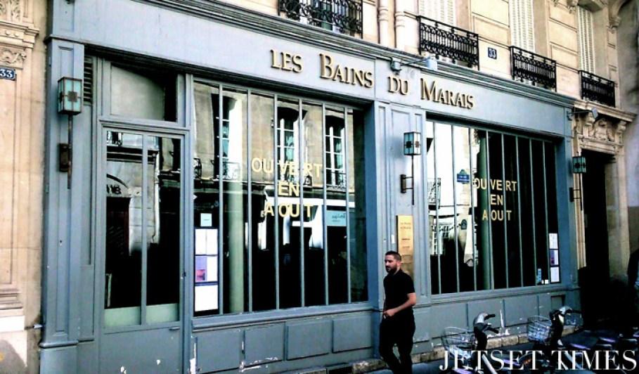 Les Bains du Marais, Paris