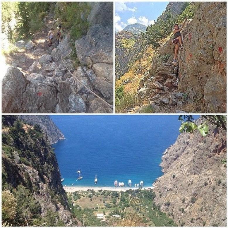 Muğla Province Turkey paragliding collage