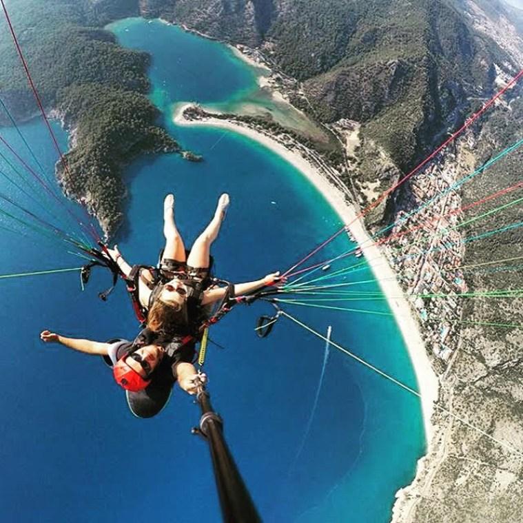 Muğla Province Turkey paragliding
