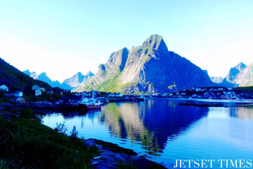 Lofoten Islands Norway mountain