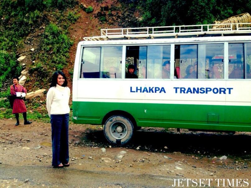 Bhutan bus
