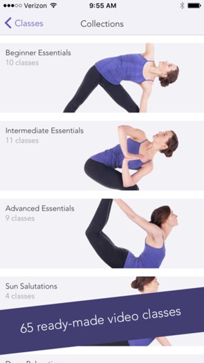 Yoga Studio App poses