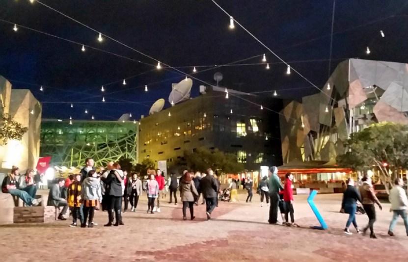 Facebook Federation Square Melbourne Australia 1