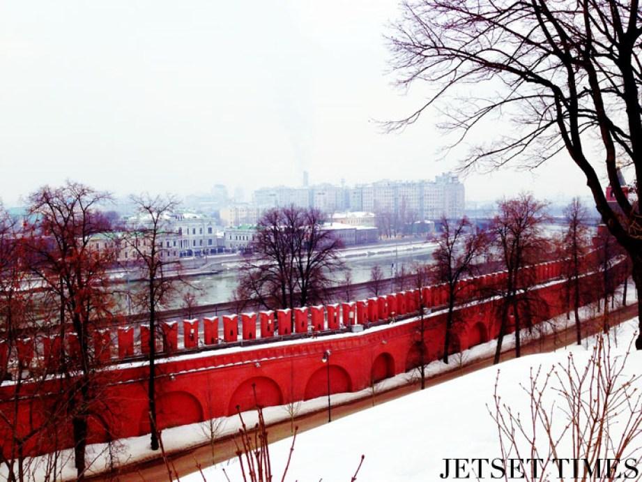 Kremlin Wall, Moscow Russia