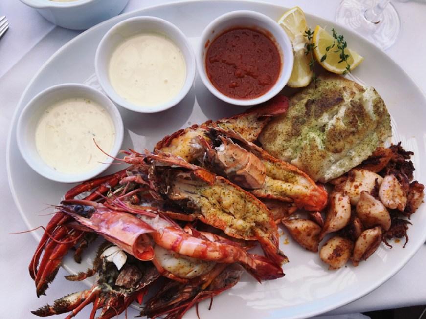 Paranga (Seafood Platter) , Cape Town, South Africa. Frances Tao