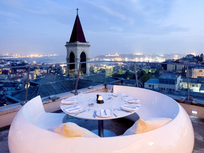 360 Istanbul Turkey rooftop