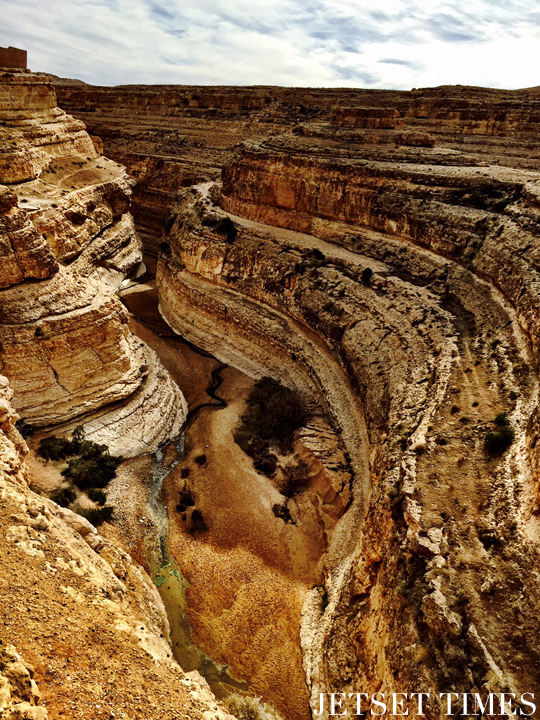 Tunisia canyon