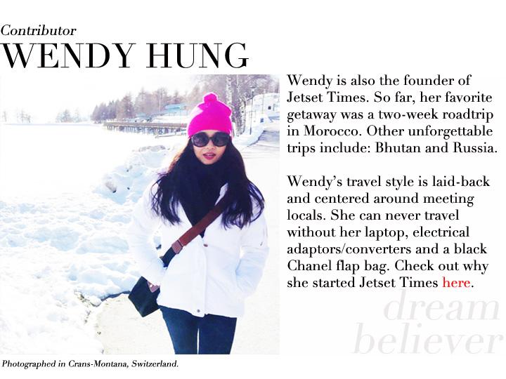 Wendy Hung contributor profile Switzerland