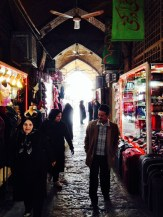Isfahan Grand Bazaar.
