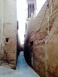 Tiny alleys in Yazd.