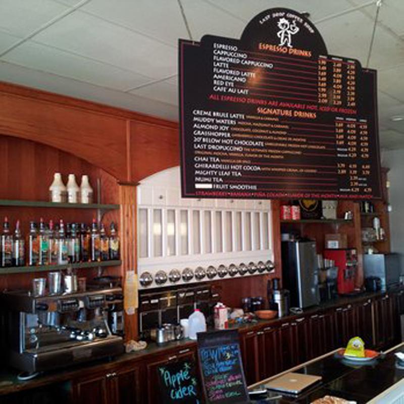 Last Drop Coffee Shop, Connecticut