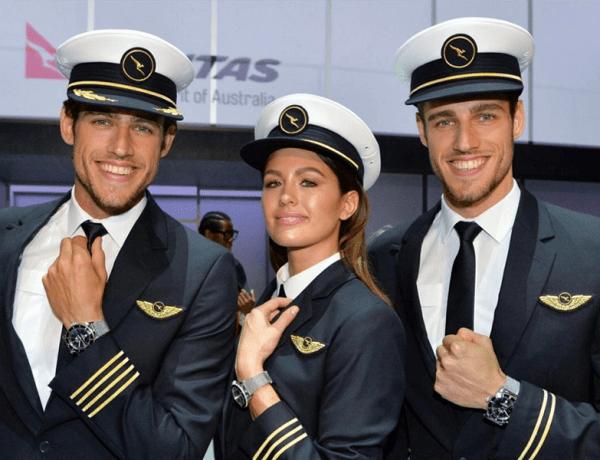 Qantas uniform