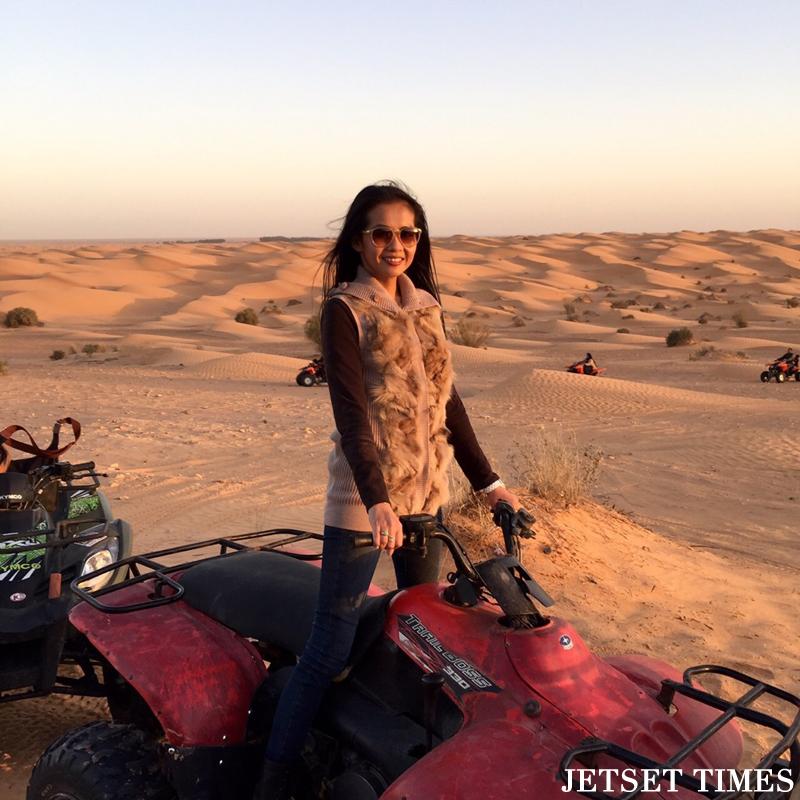 Tunisia ATV in Sahara